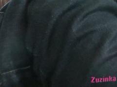 Hot zuzinka babe finger pumps her worthy hawt clit