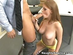 Concupiscent Student Faye Reagan Eagerly Hooks Her Face Gap On A Wet Hard Beaver