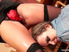 Fucked and Pissed On Bar Sluts