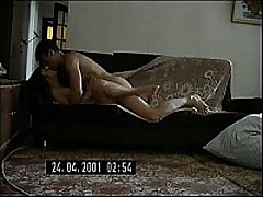 Short-haired Russian mommy decided to try having sex with the fellow half her age. She didn't regret it for a second, this fellow is a freak like that babe is and is fine with making home sextapes.