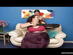 Anna Paige is a massive chubby whore and this babe spreads her legs for this midget cutie. See her as this babe gets that slit licked hard on the sofa in advance of playing for a while. No matter the age, size and forms, these gals will always have fun whenever they can.
