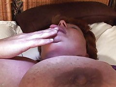 Brigit is one of those massive granny women that could swallow a sextoy like a candy bar. This babe is masturbating and inserts that sex toy in her vagina all the way in making sure that babe has it inside. Her plump cunt receives it with no problems and now that babe can have a fun herself. This babe is massive but her sex drive is even bigger then her.
