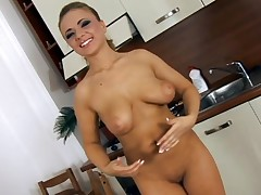 Big brassiere buddies darling is desirous to get her cookie sated and sore